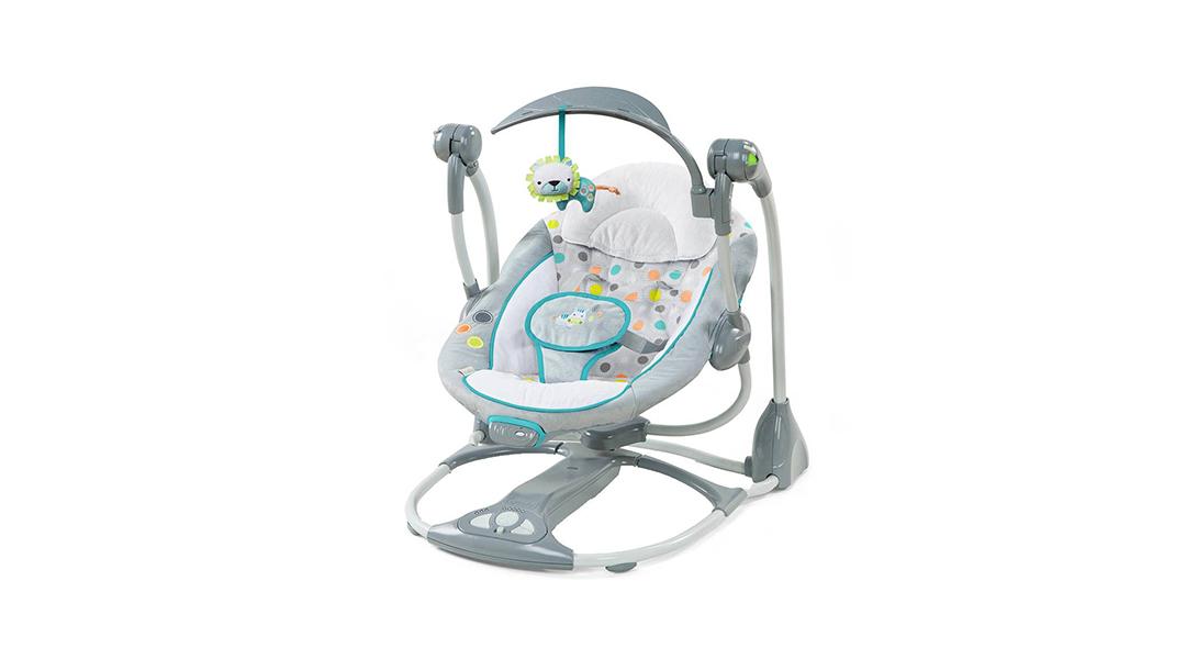 c49d27e00 Columpio y silla vibradora 2 en 1 Convertme - Ingenuity » Babytuto