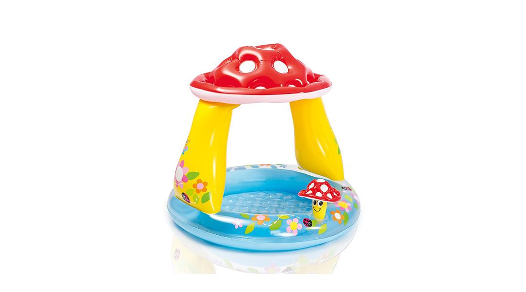 Piscina para bebé Mushroom Intex - Intex » Babytuto